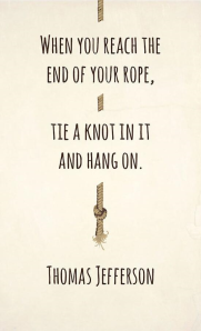end of rope